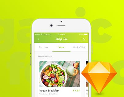 """Check out this @Behance project: """"Organic Food UI Kit - 4 apps in 1 UI Kit"""" https://www.behance.net/gallery/49840047/Organic-Food-UI-Kit-4-apps-in-1-UI-Kit"""
