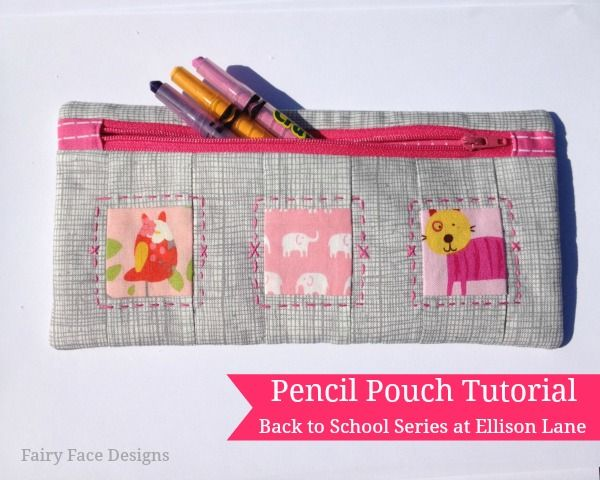 Pencil Pouch Pattern: Back to School at Ellison Lane - Ellison Lane