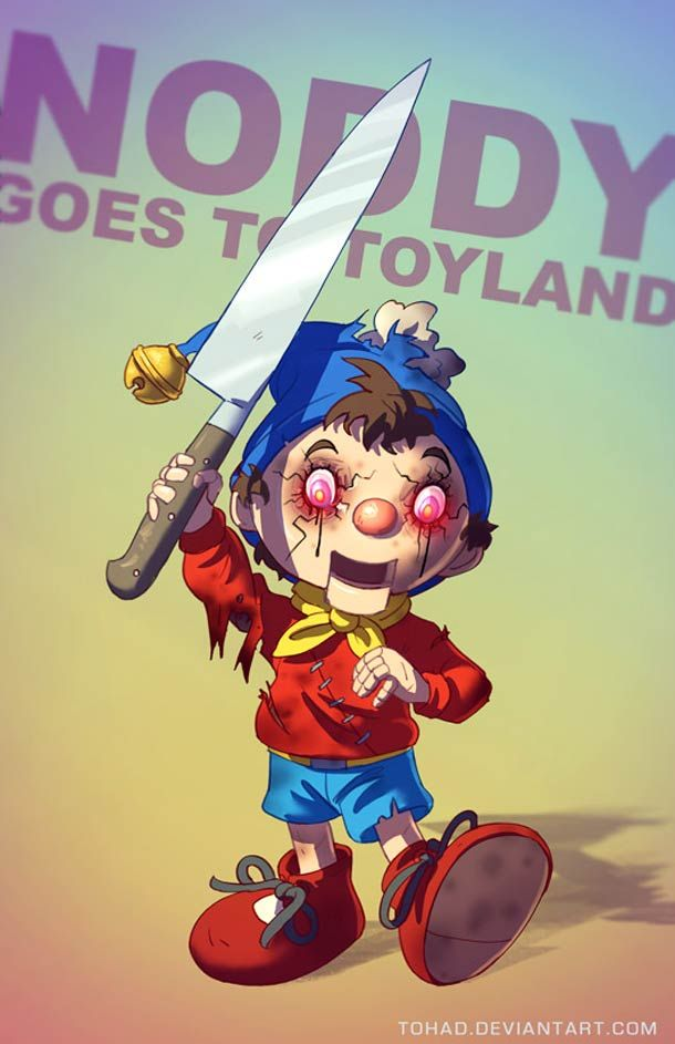 La face caché des héros de notre enfance - Badass Fanarts