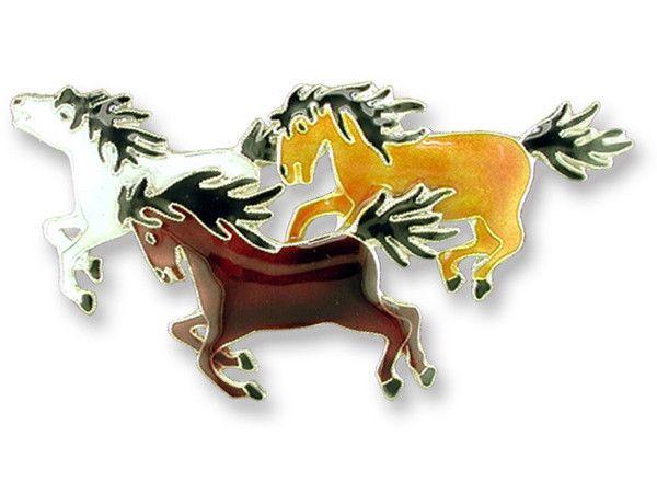 ZARAH HORSES PENDANT