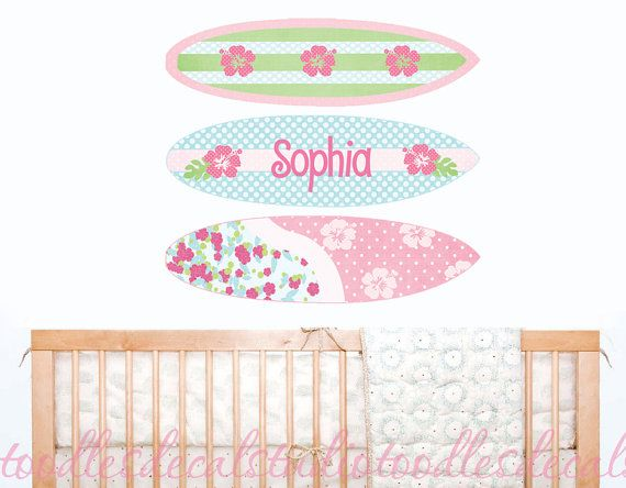 17 Best Images About Hawaiian Surfer Girl Nursery On