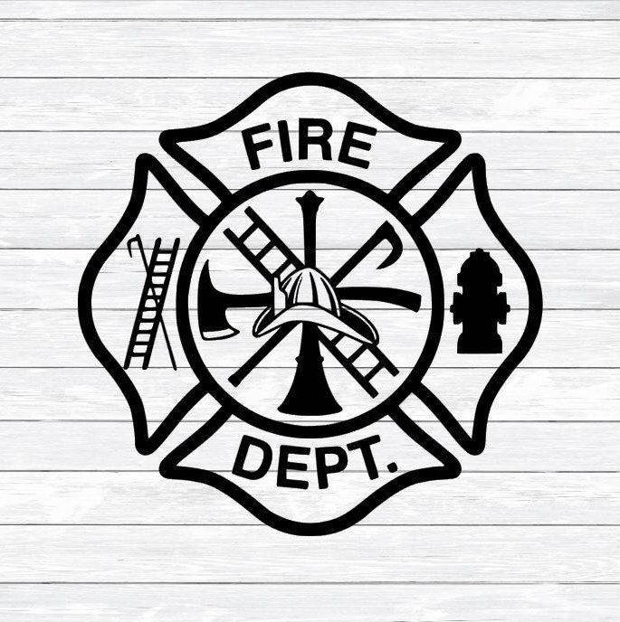 Maltese Cross Firefighter Svg Fireman Fire Woman Svg Dxf Etsy In 2021 Maltese Cross Firefighter Maltese Cross Firefighter