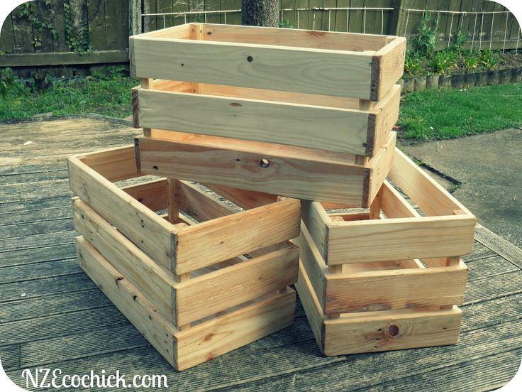 Pallet Crates Wooden Pallet Crafts Pallet Crates Wooden Crates