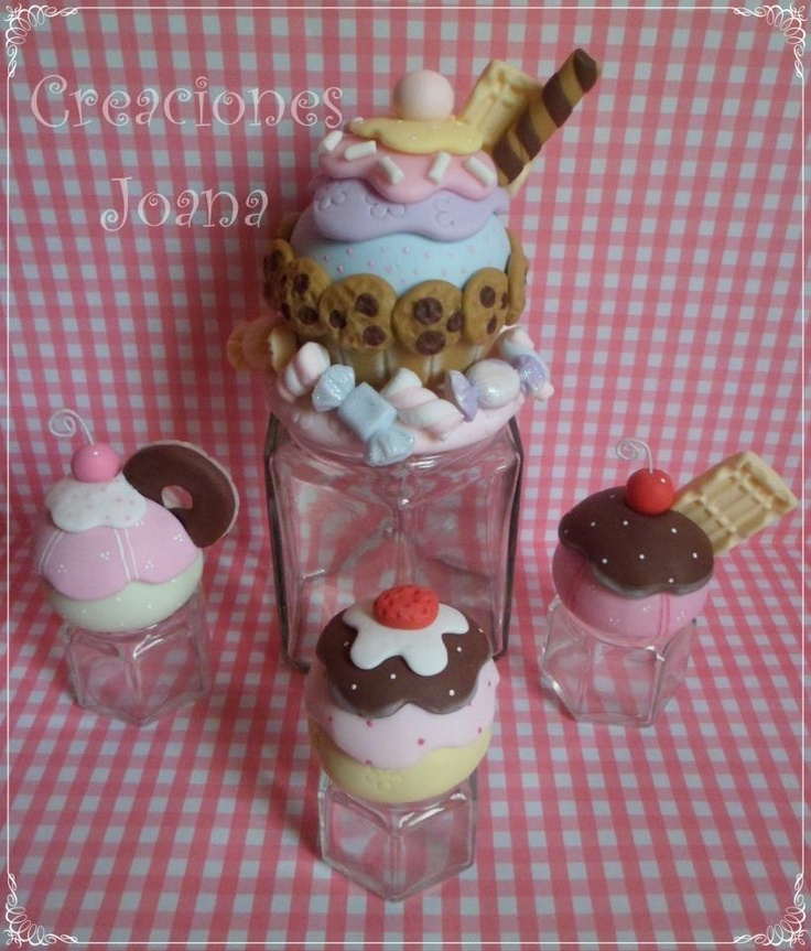 Frasco cupcake