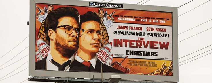 Esta película es la protagonista estelar de uno de los escándalos más resonantes del 2014, con esquirlas alcanzan el año que comienza. La comedia motivó un ataque informático a la productora, al parecer proveniente de Corea del Norte, y derivó en la cancelación del estreno. Sin embargo, The Interview ya es un éxito en los canales online.