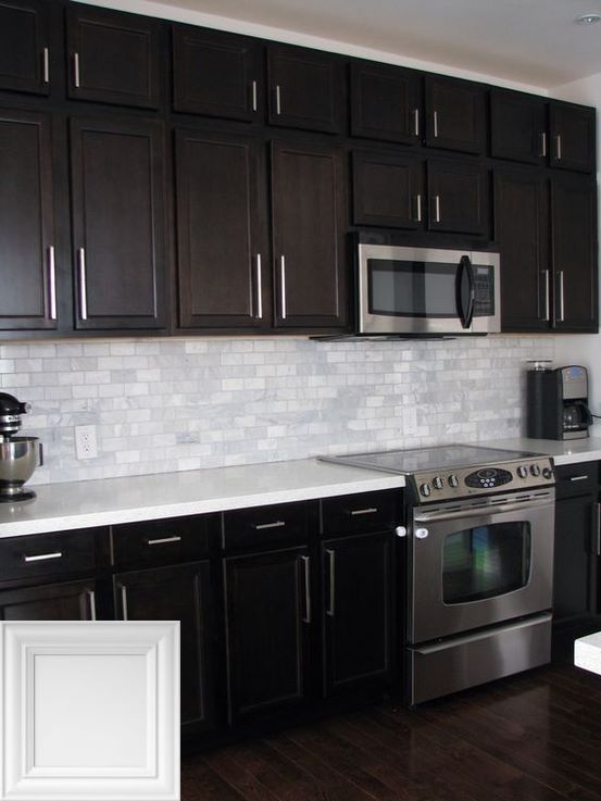 White Painted Cabinets With Grey Glaze Whitekitchens And