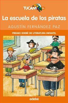 La escuela de los piratas / Agustín Fernández de Paz. De repente, se escuchó un ruido sordo. Un sonido grave, profundo y prolongado, que consiguió imponerse al estrépito de la lluvia. Y los niños se miraron los unos a los otros, con caras de sorpresa e inquietud...