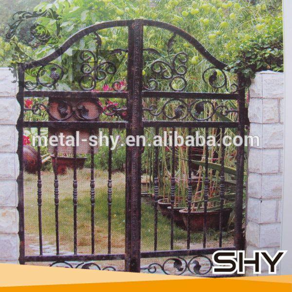 puerta principal de hierro de la casa parrilla de diseo para el hogarjardn buy product on alibabacom