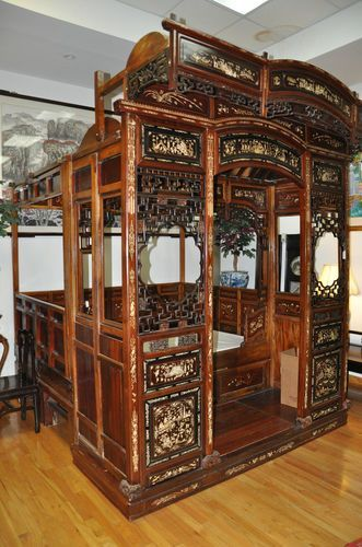 CHINESE WEDDING BEDS | beautiful chinese wedding bed | I just really want