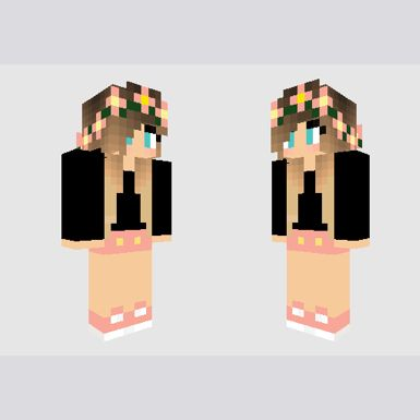 Summer dress minecraft skin zane