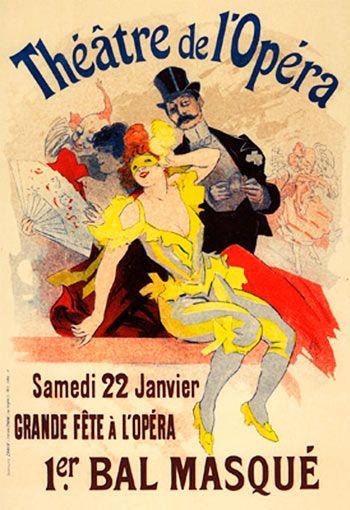 Theatre de l'Opera. Jules Cheret