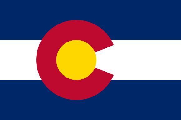 Флаг Колорадо