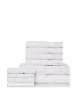 Chortex Rhapsody Royale 10-Piece Bath Towel Set, Silver