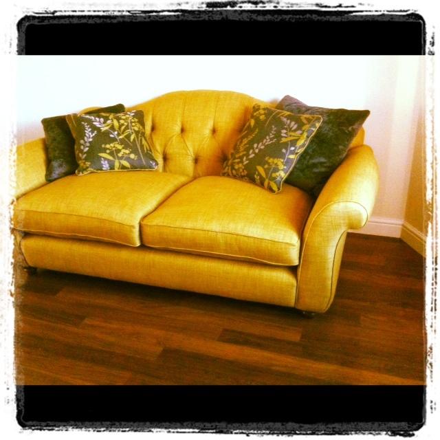 Our new Hepburn sofa in situ..