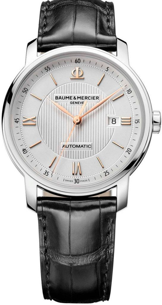 Baume et Mercier Watch Classima #bezel-fixed #bracelet-strap-alligator #brand-baume-et-mercier #case-depth-8-6mm #case-material-steel #case-width-42mm #date-yes #delivery-timescale-call-us #description-done #dial-colour-silver #gender-mens #luxury #movement-automatic #official-stockist-for-baume-et-mercier-watches #packaging-baume-et-mercier-watch-packaging #style-dress #subcat-classima #supplier-model-no-m0a10075 #warranty-baume-et-mercier-official-2-year-guarantee #water-resistant-50m