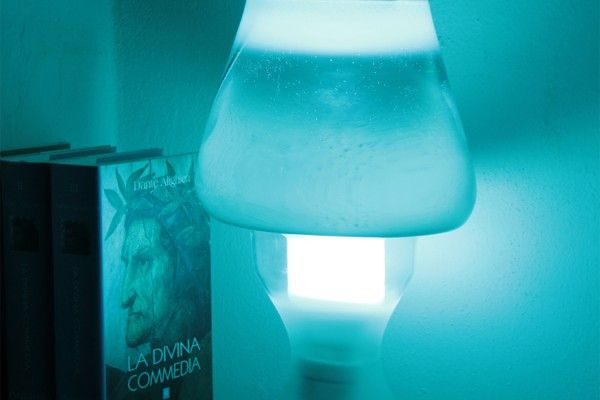 Fluid lamp by Andrea Ciappesoni | LedLab - Led Lighting Network