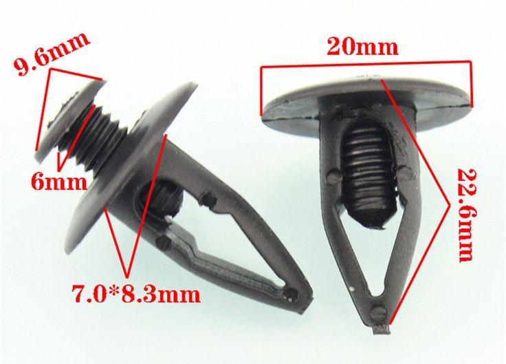 10PCS Fender clip for the Mazda 6 M6 coupe Pentium B70 B50 plastic fasteners #Affiliate