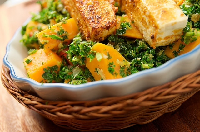 Sweet potato kale, Tofu and Kale on Pinterest