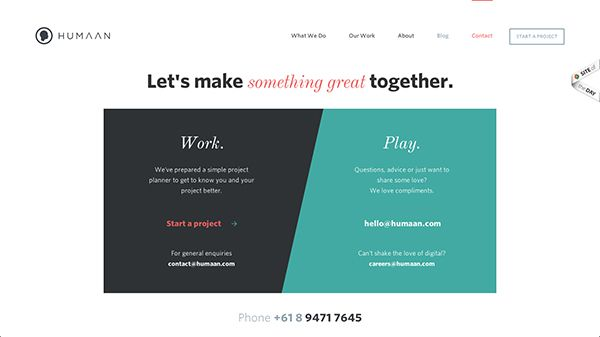15 Contact Pages Showcasing Great User Experience - Designmodo