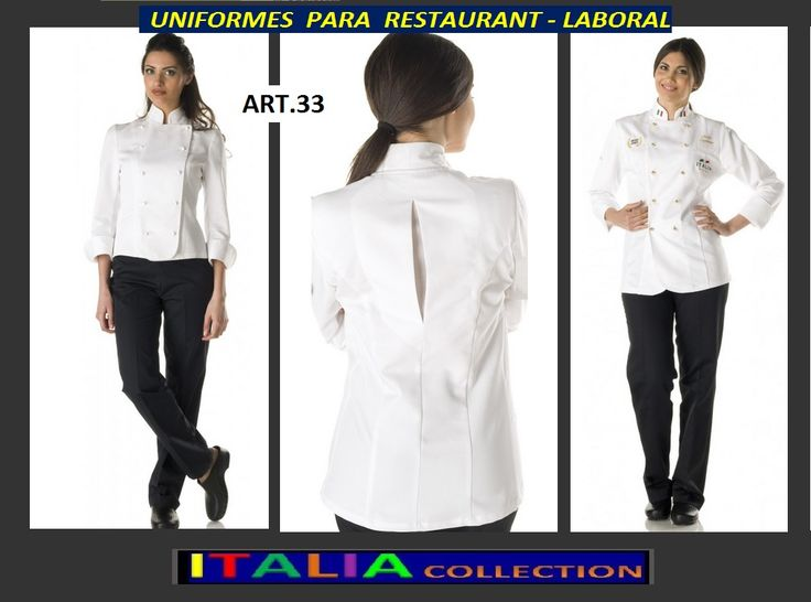 25 best ideas about uniformes para chef on pinterest mandiles para chef chef uniforms and - Uniformes de cocina ...