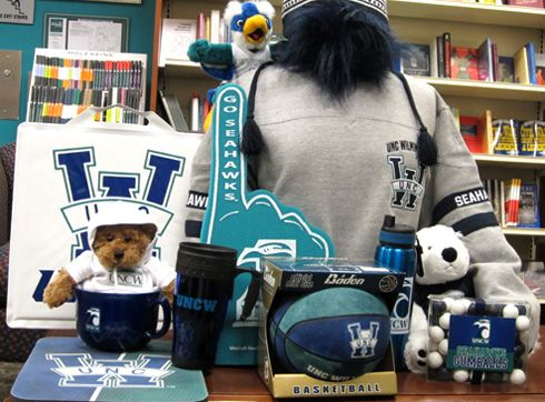 Visit the UNC Wilmington Bookstore for officially licensed Seahawk merchandise! http://uncw.edu/bookstore/