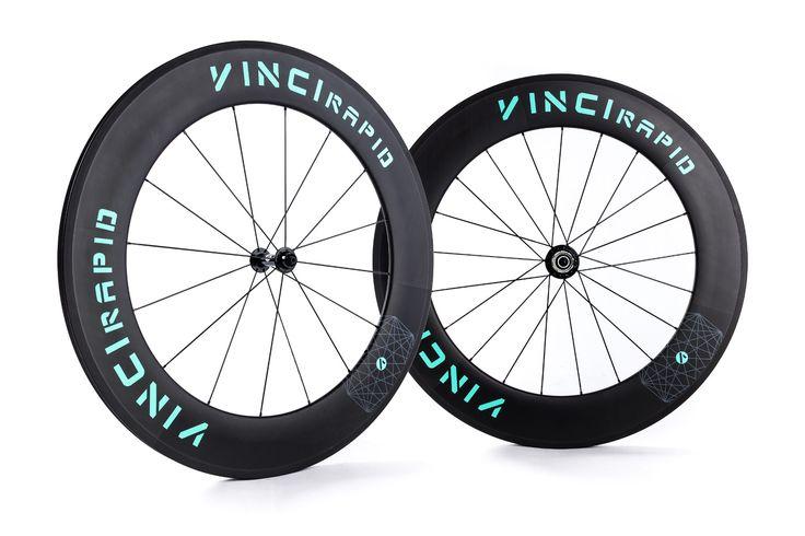 VINCI RAPID 88mm tubular or clincher | VINCI - carbon triathlon bike wheels
