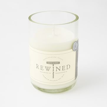 Rose scented Rewined Candles - Clear #westelm