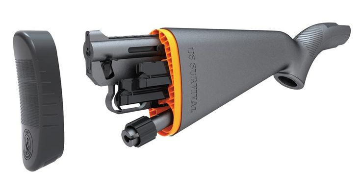 AR-7 Survival .22LR Rifle - fits inside its own stock, waterproof, no tools required!