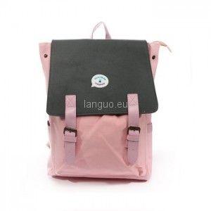 Plecak Trzy Kolory - pink