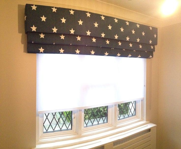 Star Fabric . Roman Blind . Sheer Roller Blind . 020 8361 8339