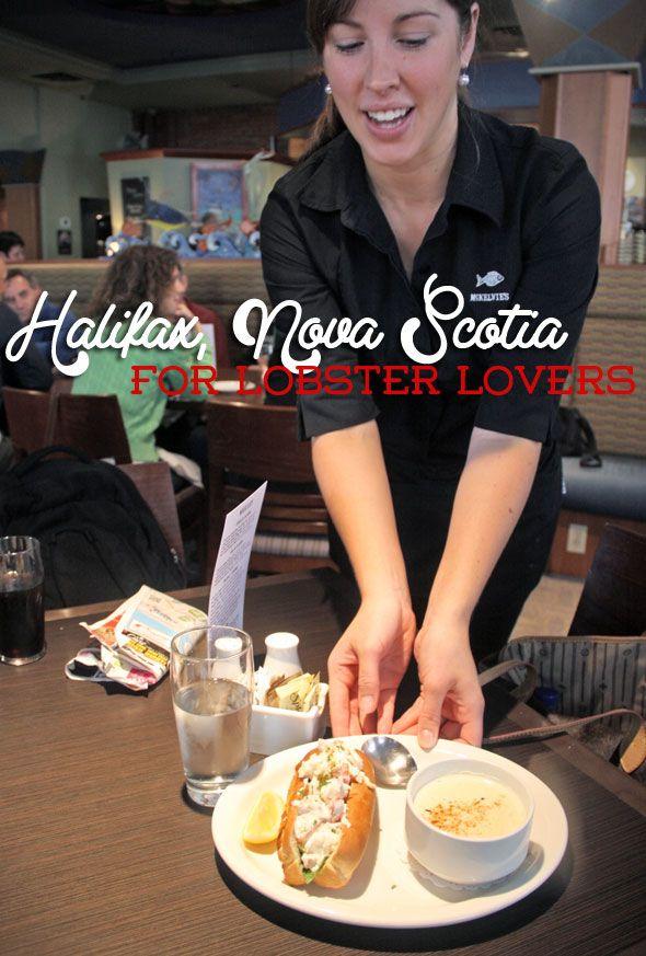 Lobster roll in Halifax, Nova Scotia