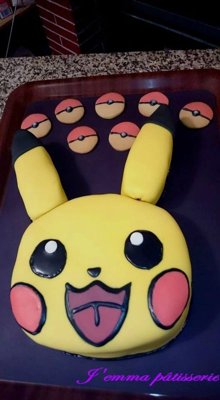 Best 25 Gateau Pikachu Ideas On Pinterest G 226 Teau