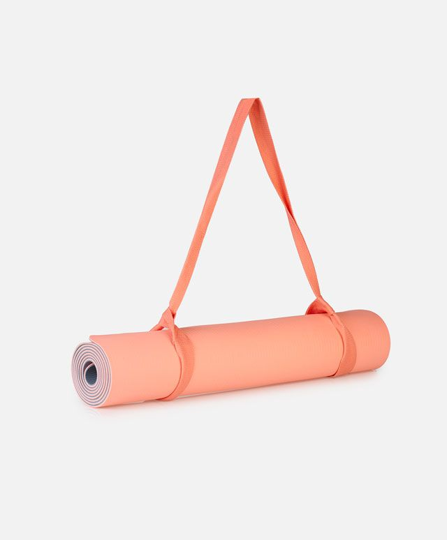 Στρώμα γυμναστικής ροζ και γκρι - OYSHO