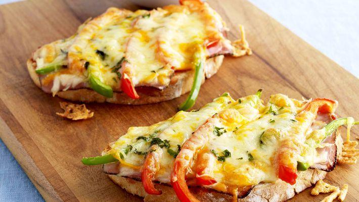 Varme ostesmørbrød