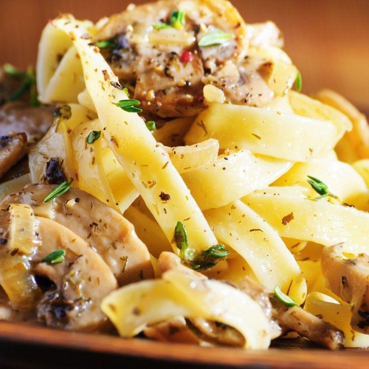 Pasta di Piero Moreno - hemlagad pasta när den är som bäst!