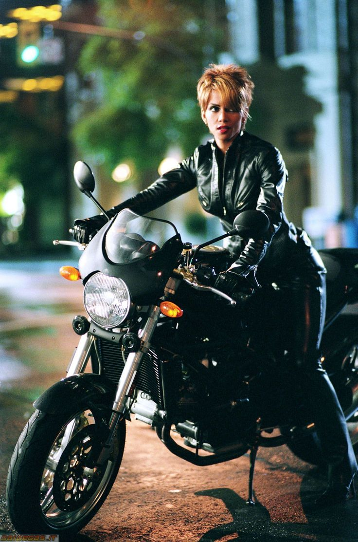 Cat Woman - Halle Berry. The bike was only good thing about that movie.