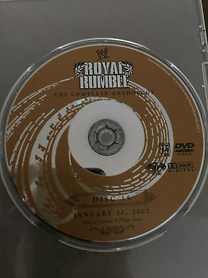2002 WWF / WWE ROYAL RUMBLE DVD (FROM ANTHOLOGY) ORIGINAL DISC & CASE ONLY!