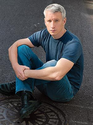 Anderson Cooper  (I don't care if he's gay!!  He's still one of the best men on the planet!!!! He should moderate the presidential candidate debates!!)