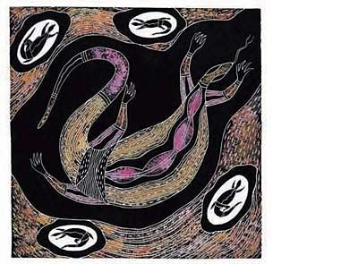 'Goanna' signed limited edition print by Warren Brim, from his picture book 'Creatures of the Rainforest'. Available from Books Illustrated. http://www.booksillustrated.com.au/bi_prints_indiv.php?id=36&image_id=128