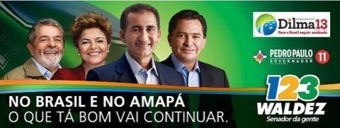 Lula pediu votos para candidato preso no Amapá. É de fuder… - Blog do Robson Pires