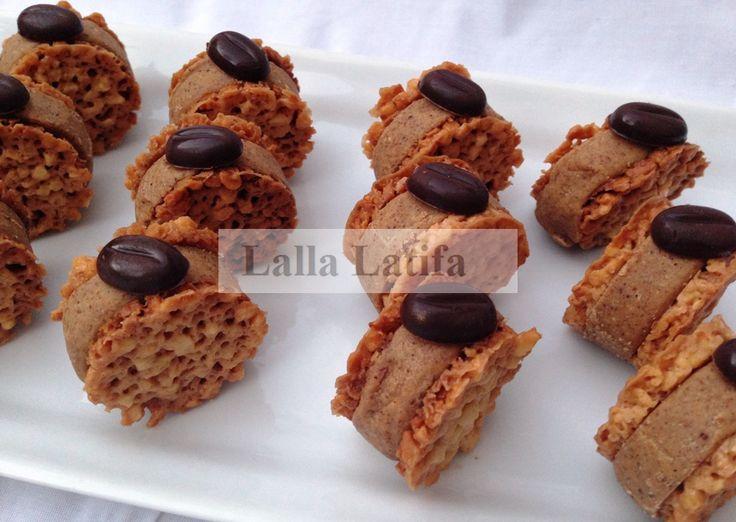 Les secrets de cuisine par Lalla Latifa - Gâteau praliné-nougat au Thermomix - Les secrets de cuisine par Lalla Latifa