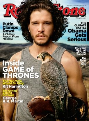 Kit Harington on the May 8, 2014 cover.