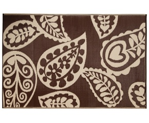Paisley Walnut Rug - 180 x 270cm