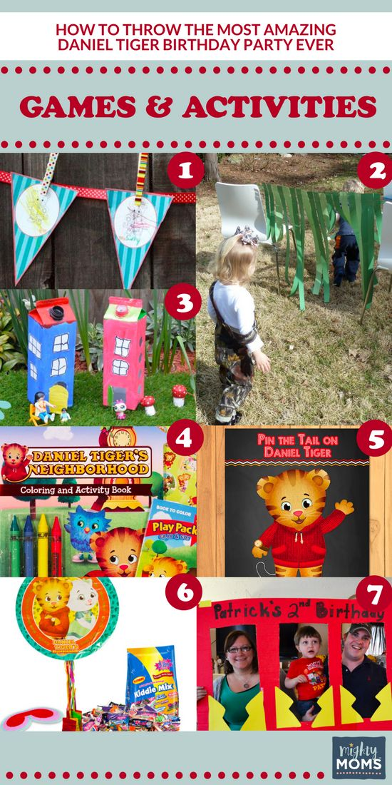 How to Throw the Most Amazing Daniel Tiger Party Ever http://www.mightymoms.club/daniel-tiger-party/?utm_campaign=coschedule&utm_source=pinterest&utm_medium=Mighty%20Moms&utm_content=How%20to%20Throw%20the%20Most%20Amazing%20Daniel%20Tiger%20Party%20Ever #party #games