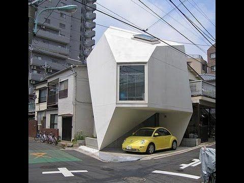 En Japon Se Construyo La MANSION Mas Pequeña Del Mundo increible no podr...