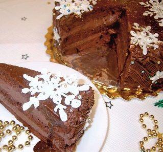 Tort de ciocolata insiropat