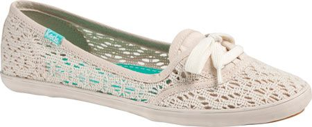 Keds crochet offers the perfect slip on spring style