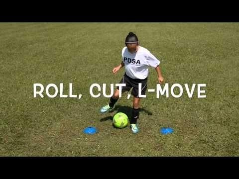 2 Cone Line - Advanced Part 1 | PDSA Individual Soccer ... 1