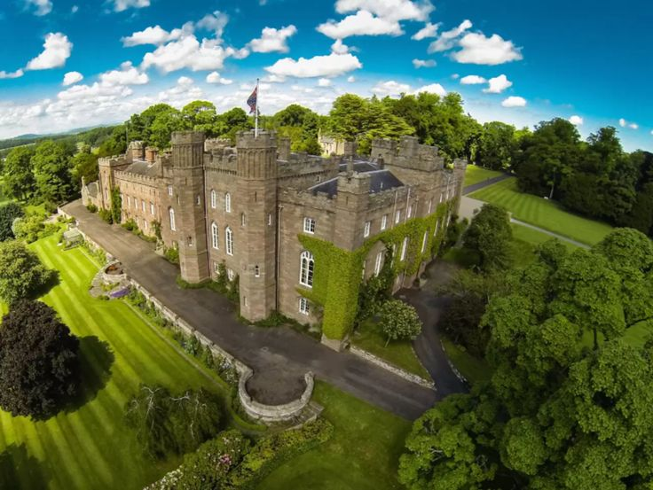 This utterly stunning and lush castle. | 18 Incredible Scottish Airbnb Castles You Can Actually Rent