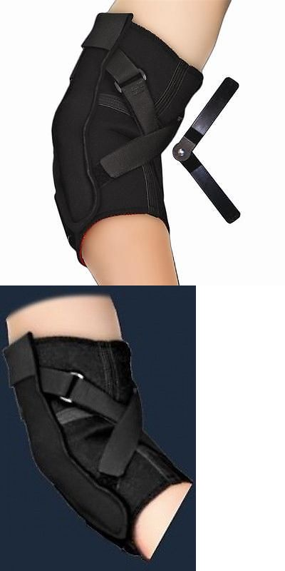 Clothing 79796: Thrmoskin Hinged Elbow Brace Support For Hyperextension Sprained Elbow -> BUY IT NOW ONLY: $49.99 on eBay!